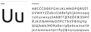tipografia ubuntu linux imatica