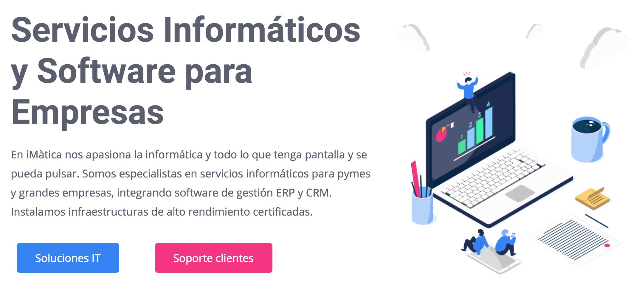 página web de imatica