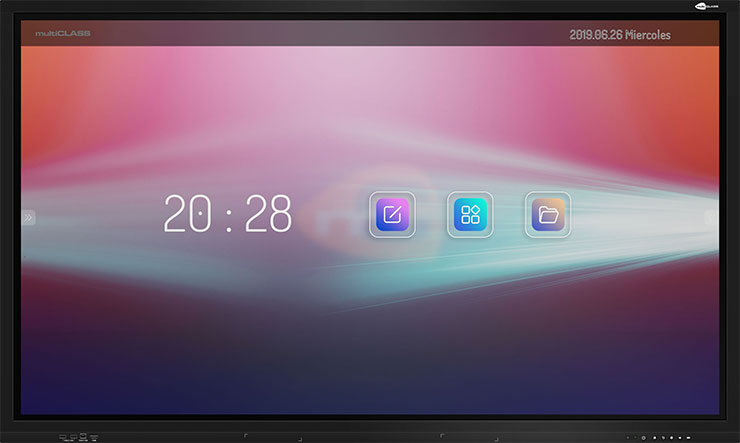 pantalla tactil multiclass